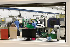 Plastic injection molding capabilities for medical devices